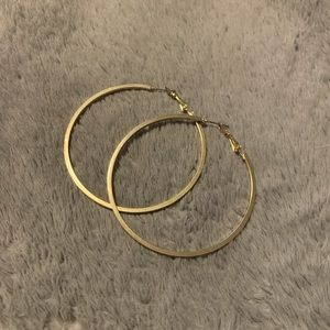 Jewelry - ✨3 for 20$✨Large size gold hoops